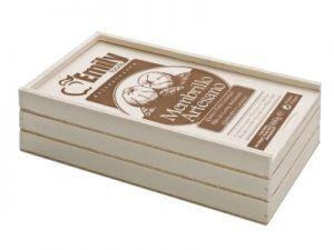 caja madera 800g